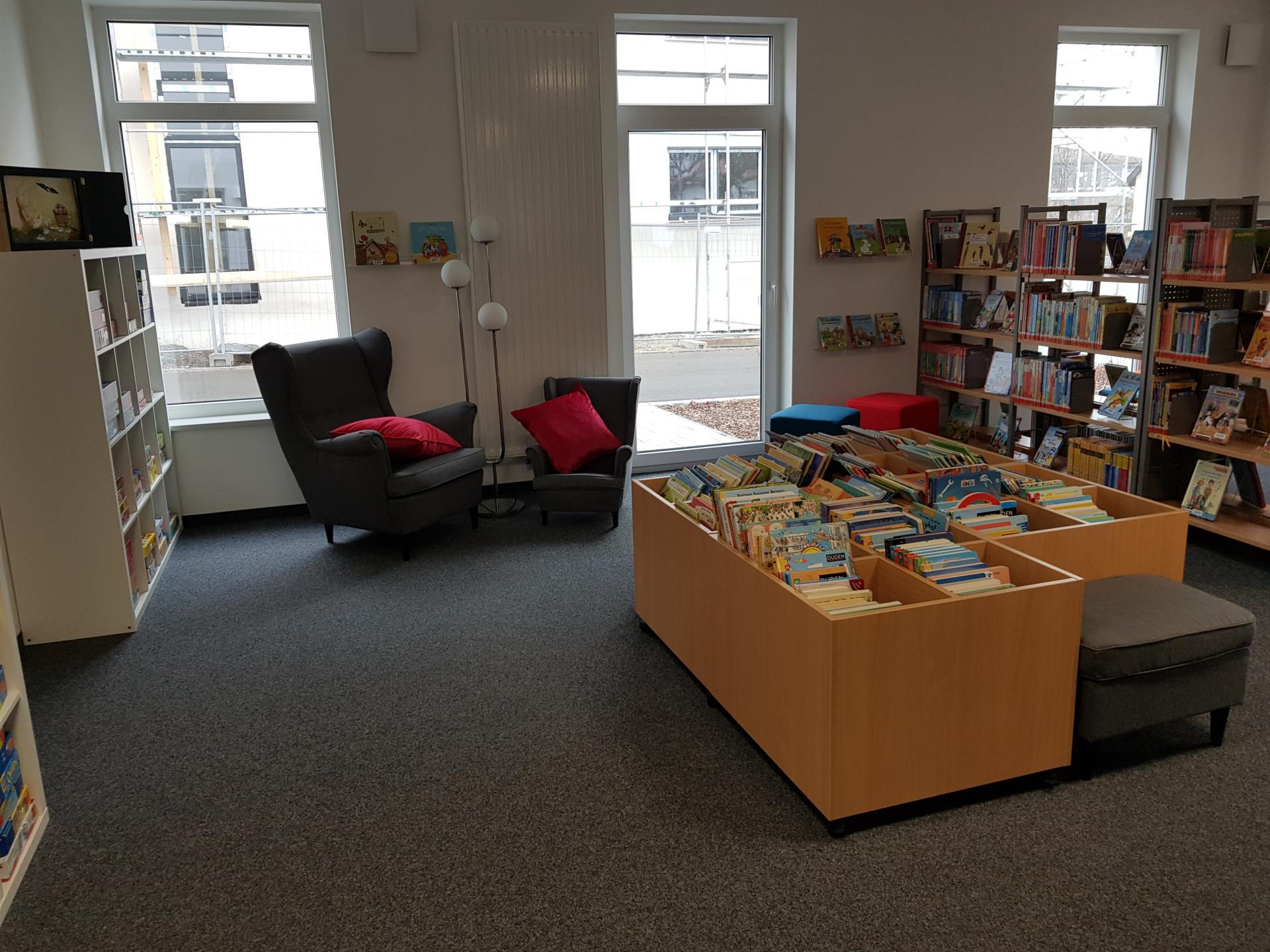 Bücherei Gemeinde Wald 2