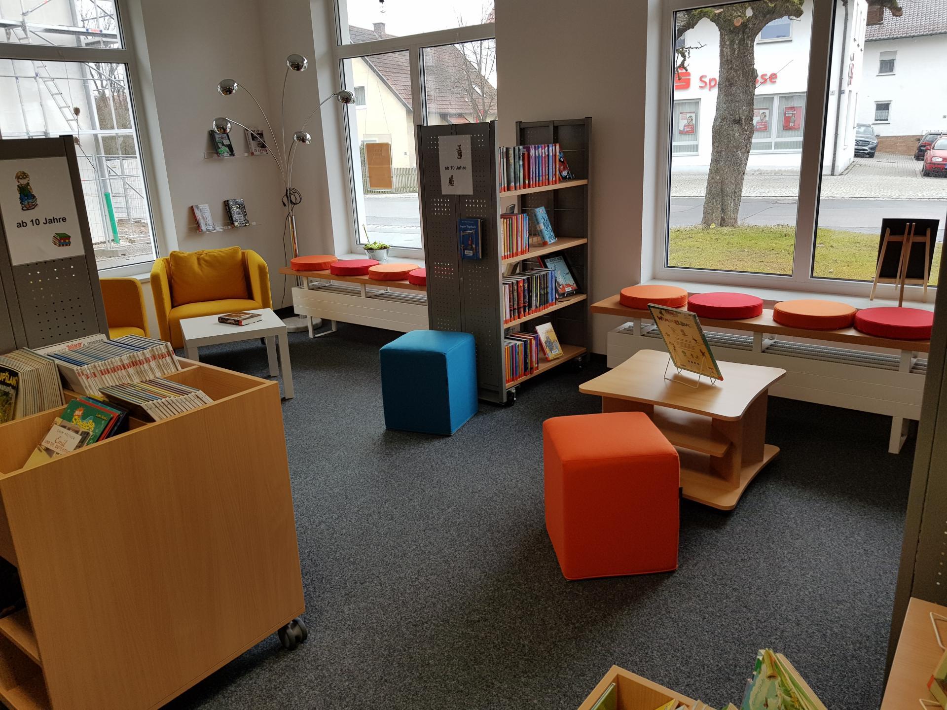Bücherei Gemeinde Wald 3