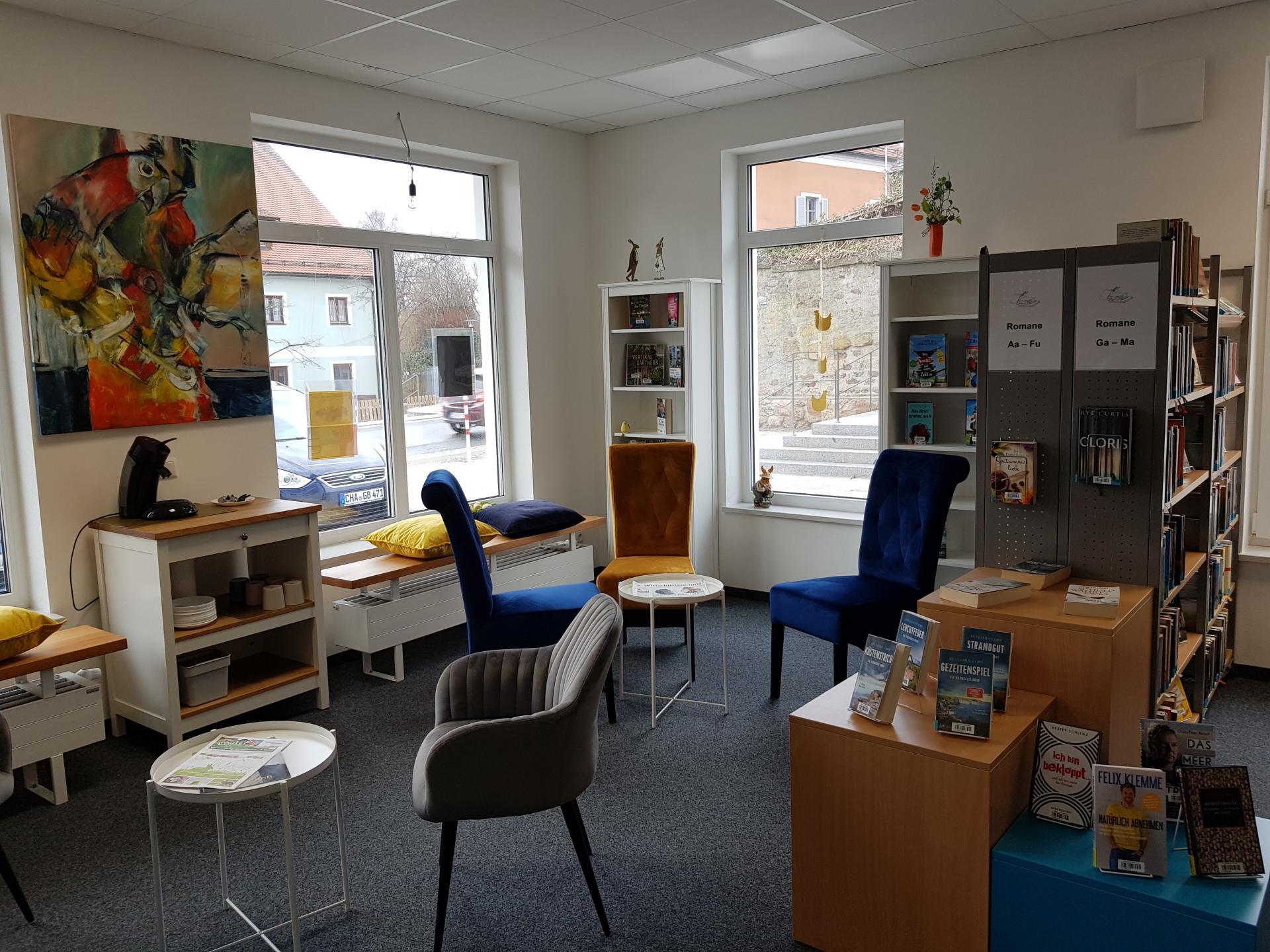 Bücherei Gemeinde Wald 4