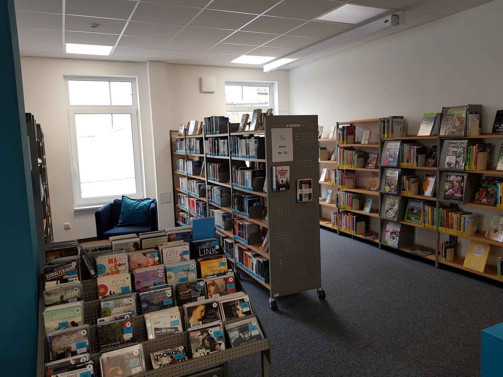 Bücherei Gemeinde Wald 6