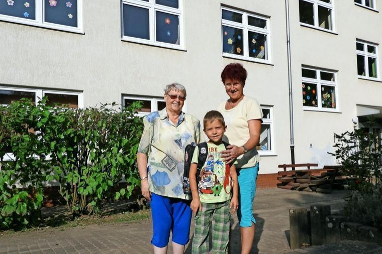 3 Generationen Görzker Schüler