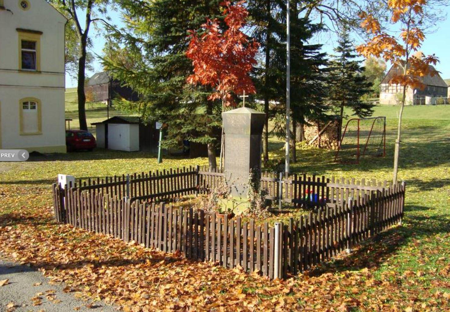Denkmal Kriegsopfer Ullersdorf