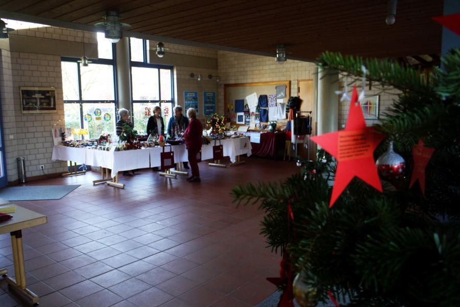 Weihnachtsbasar 2019 des Bastelkreises  der evangelischen Friedenskirche Meckenheim