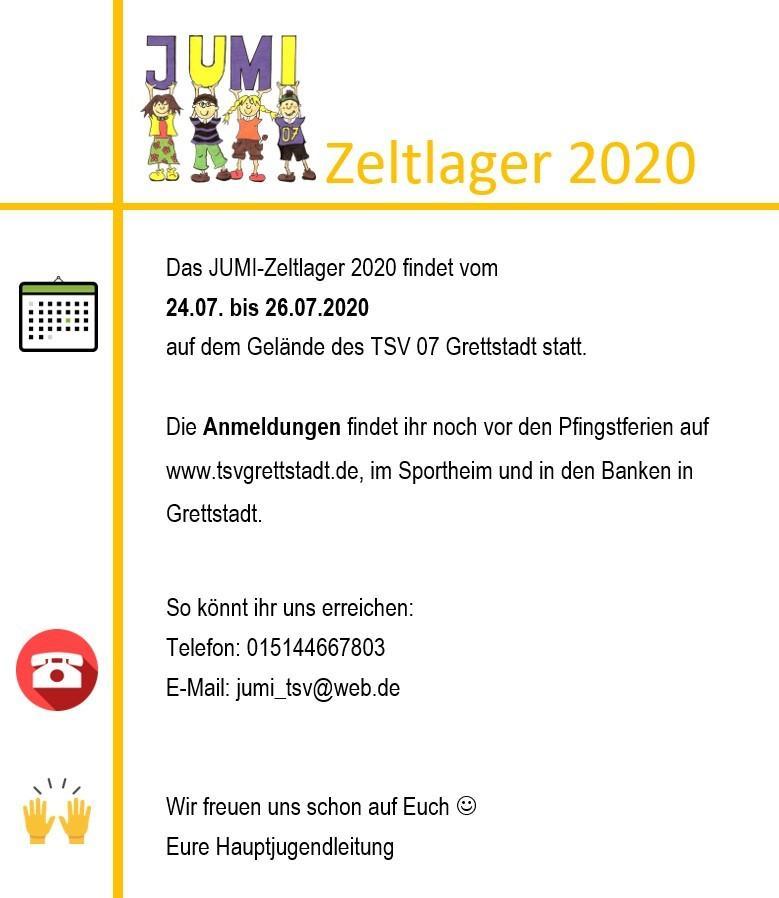 Jumizeltlager 2020
