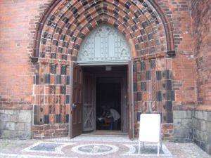 Eingang St.Jacobi-Kirche