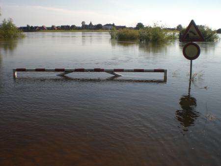 2013 Elbehochwasser Schnakenbek