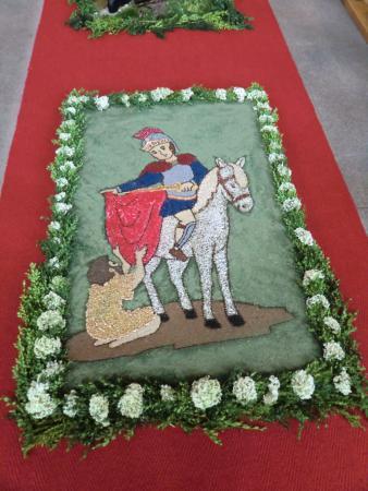Heiliger Martin Blumenteppich