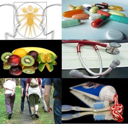 Collage Gesundheit