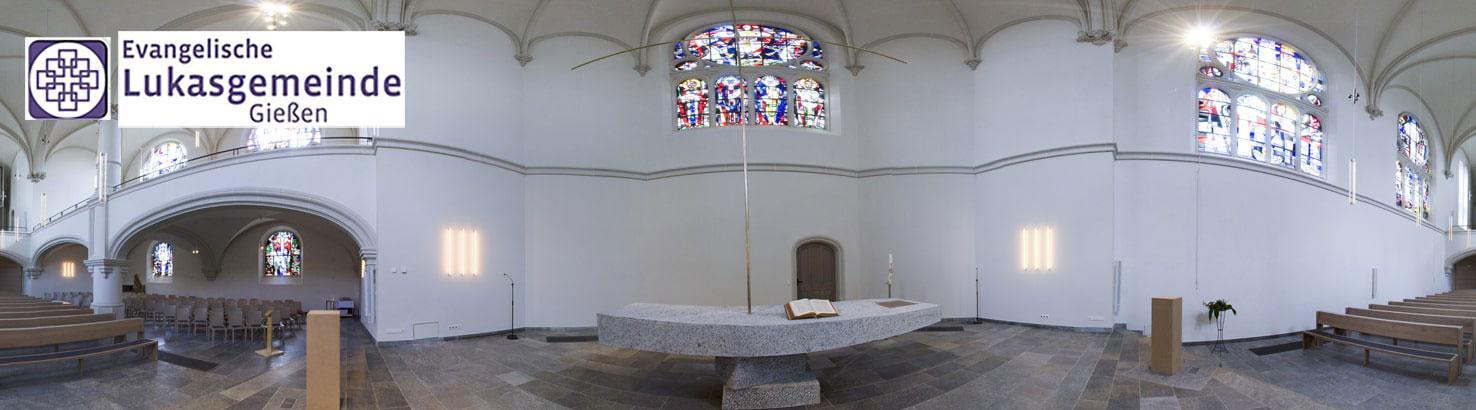 Virtuelle Tour durch die Johanneskirche