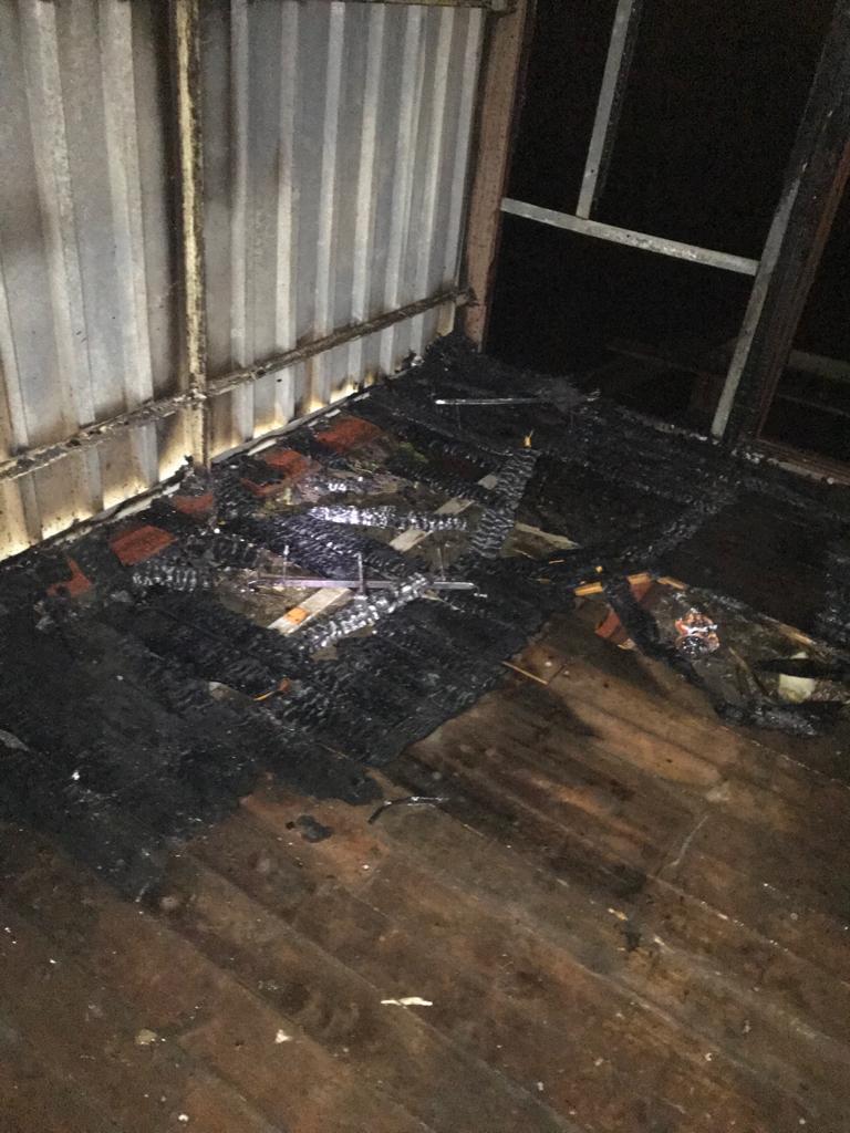Gebäudebrand 26.02.2020