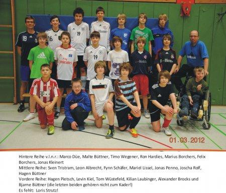 D1- Jugend 2011/2012