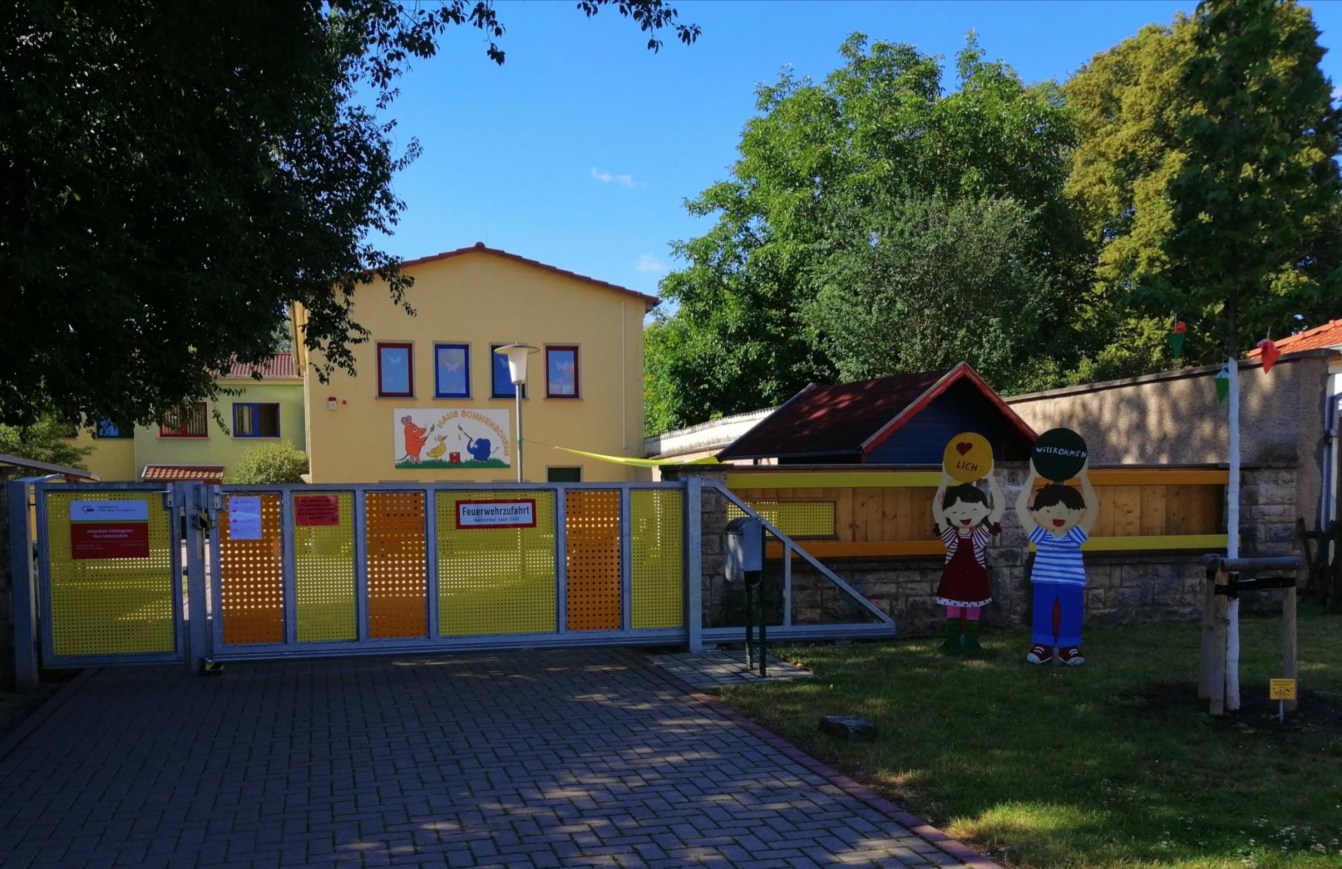 Eingangsbereich Kindergarten