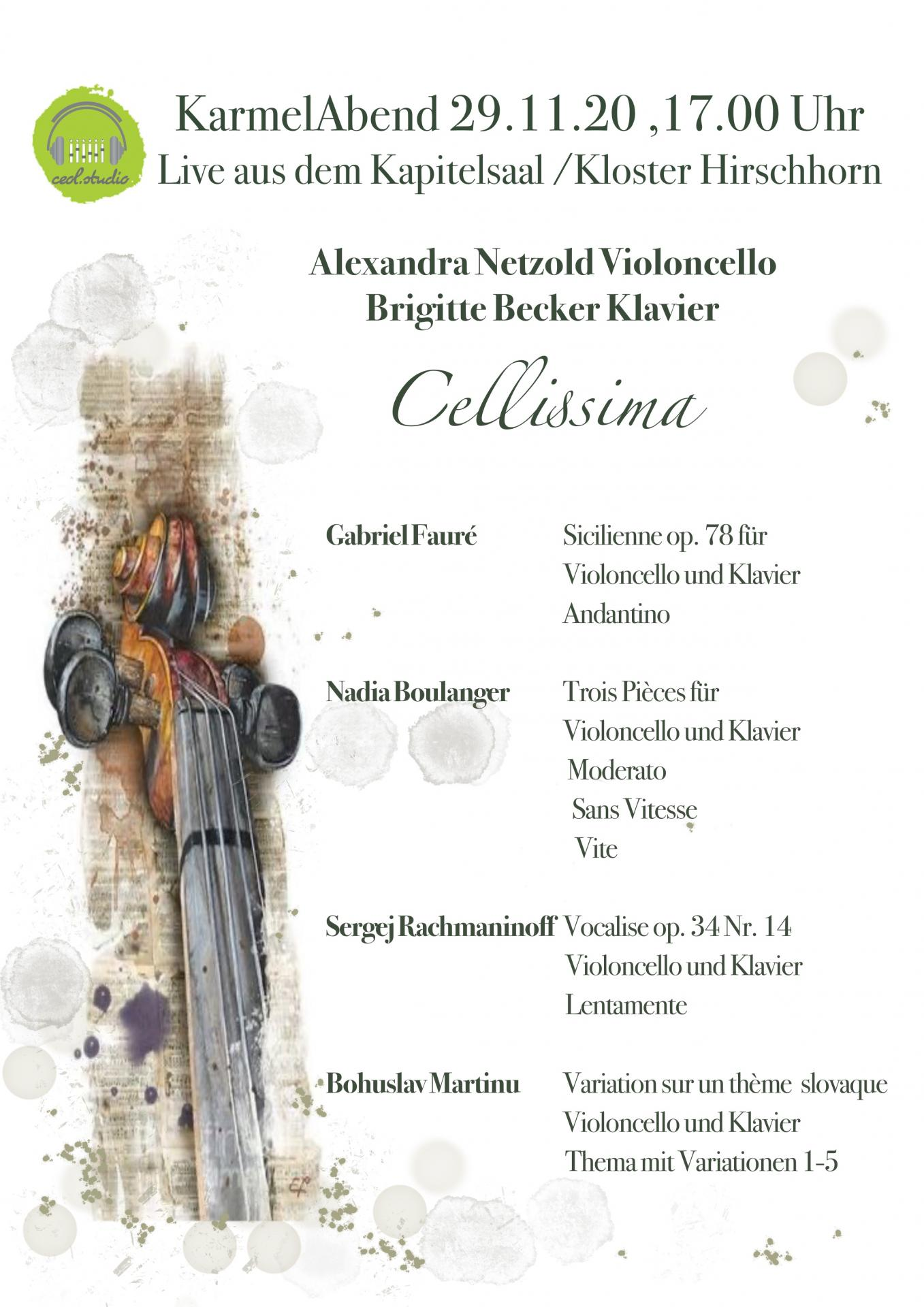 Programm Cellissima