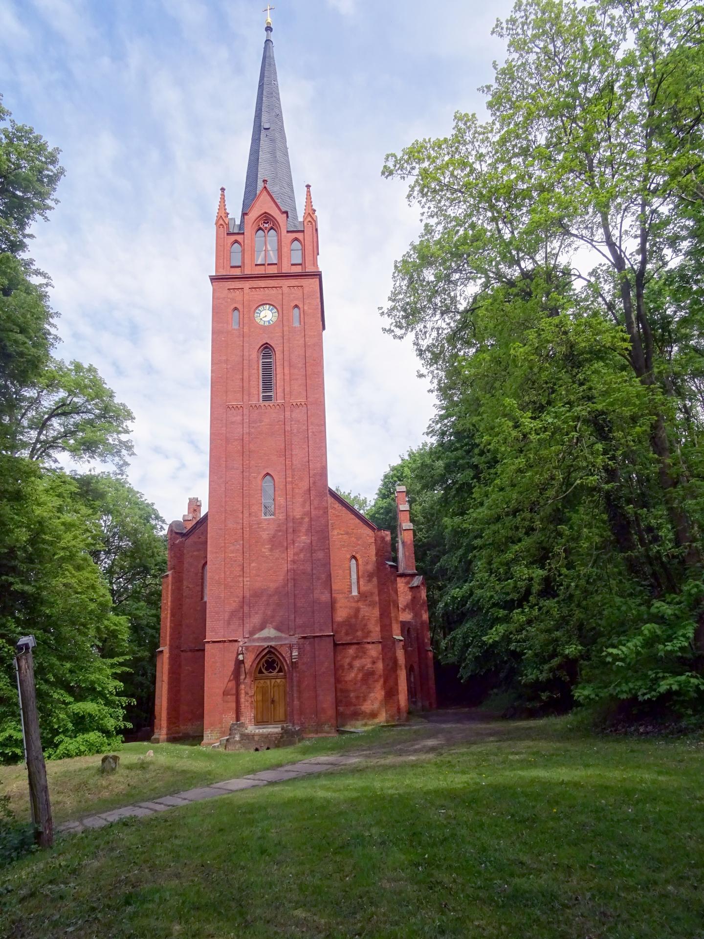 Stüler Kirche Foto: Info Punkt Lebus