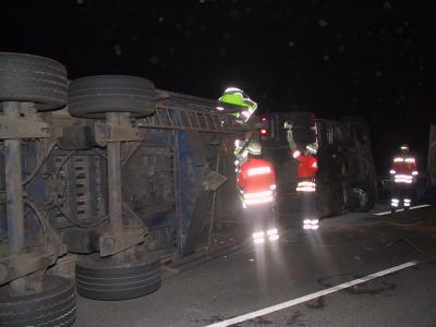 LKW-Unfall bei Großenwieden