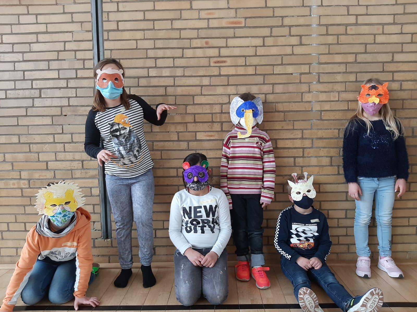 Wir basteln Masken