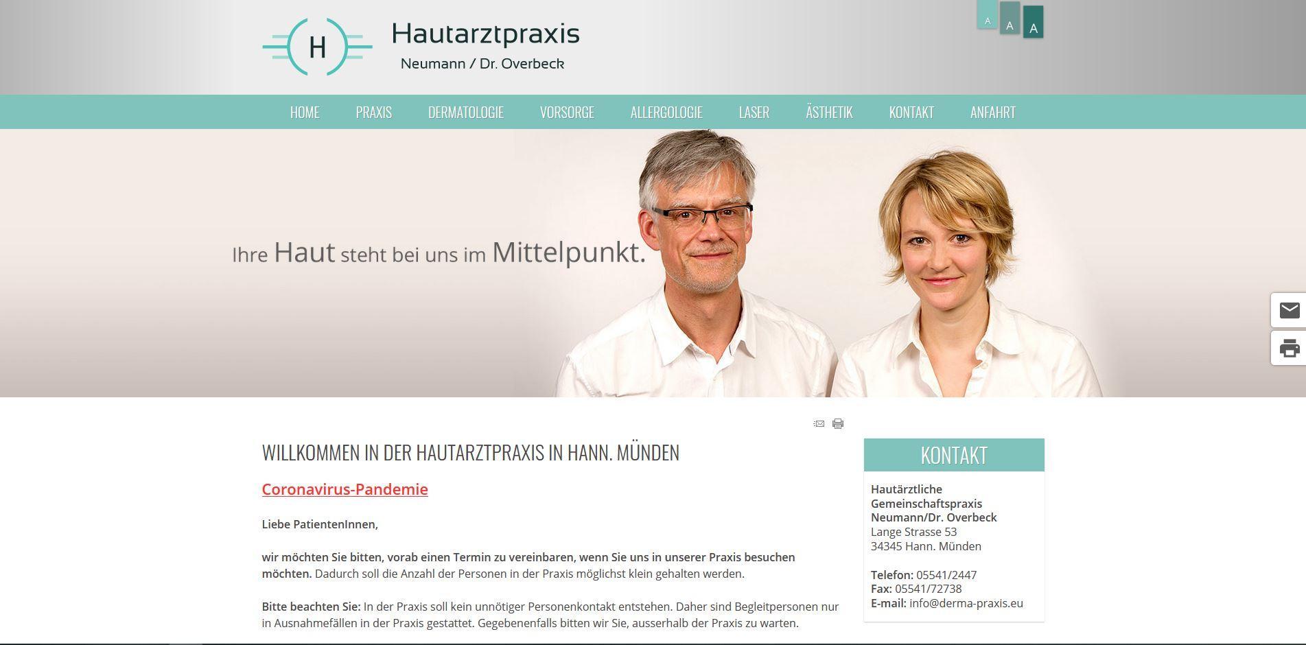 Hautarztpraxis in Hann. Münden