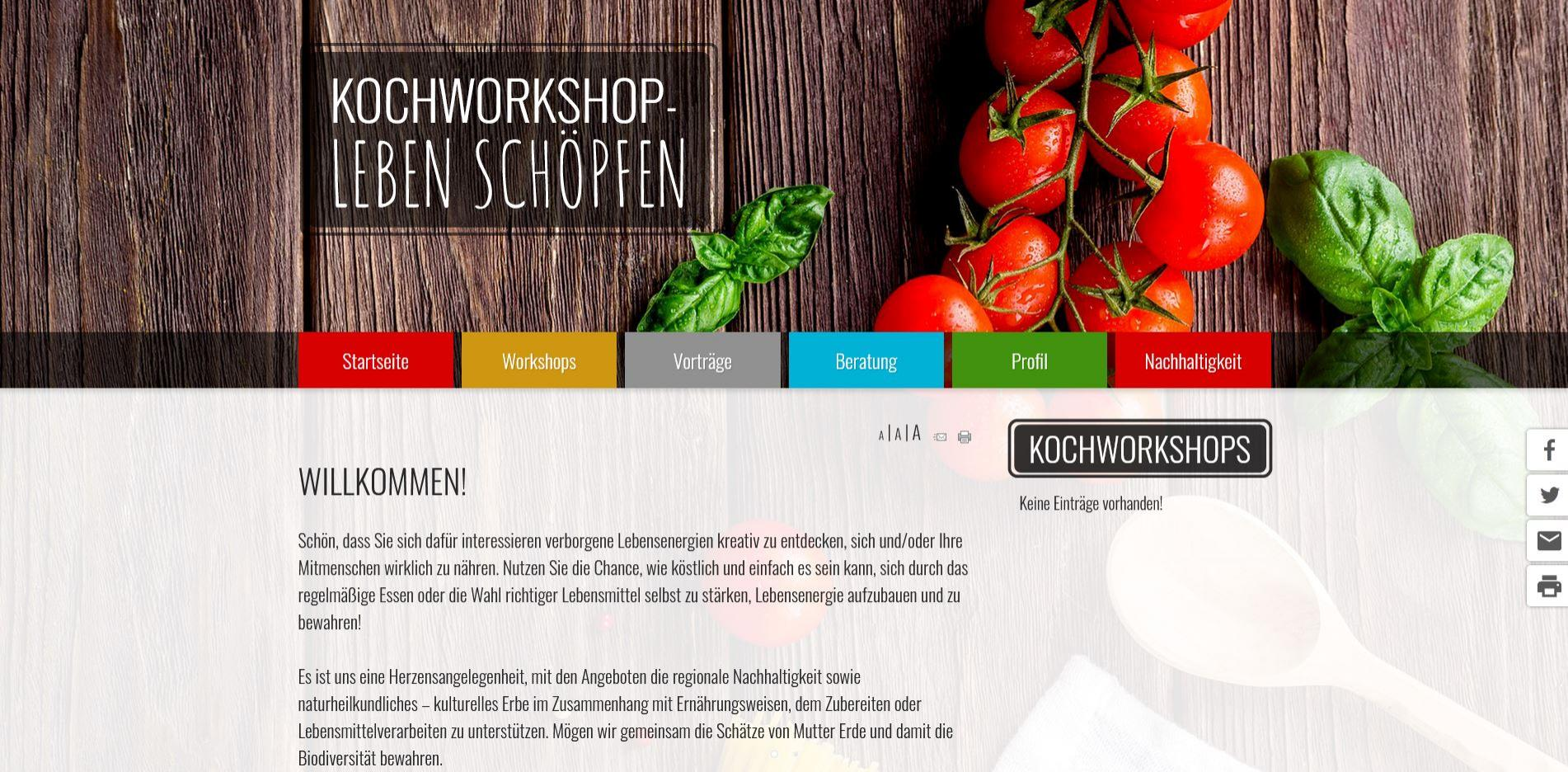 Kochworkshop