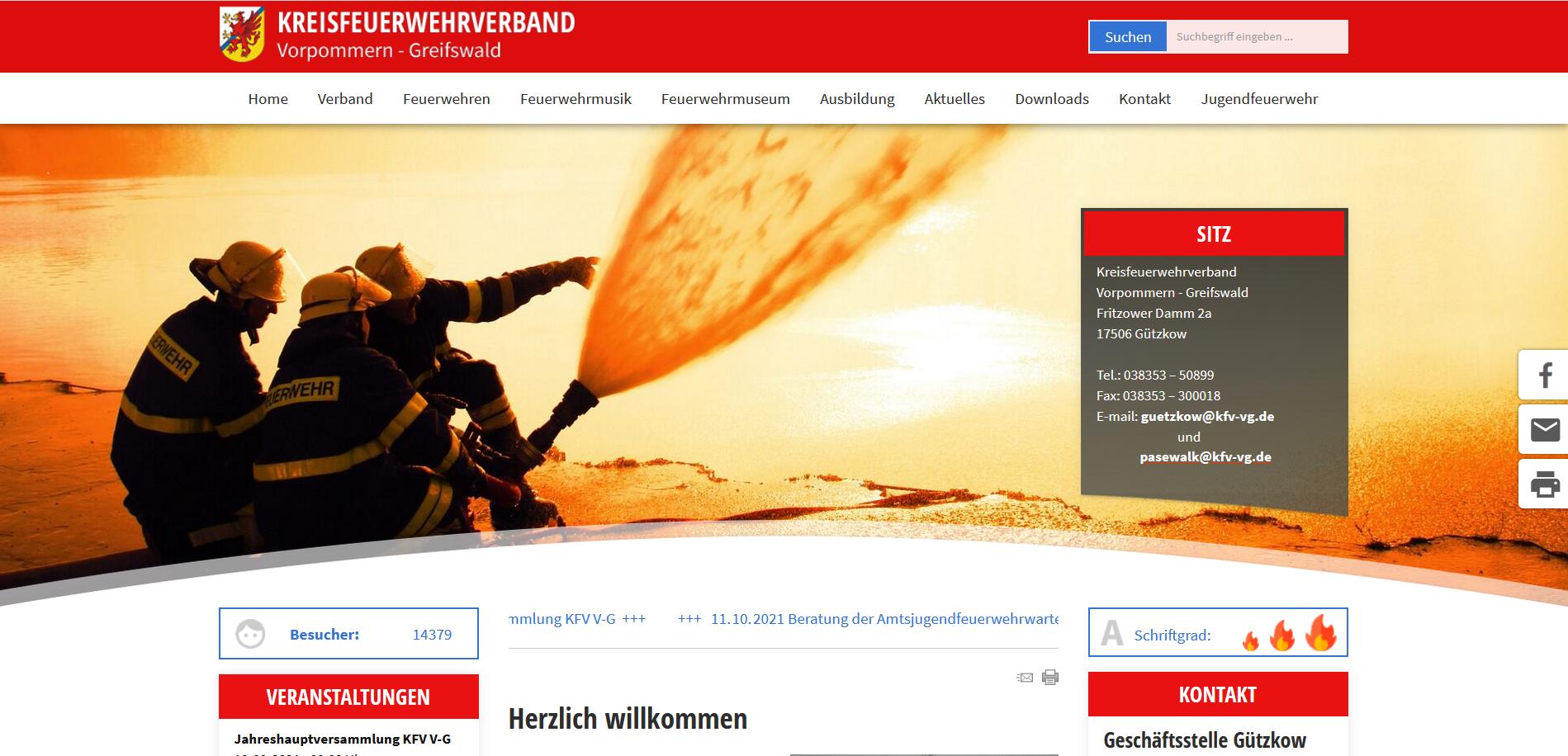 Kreisfeuerwehrverband Vorpommern Greifswald