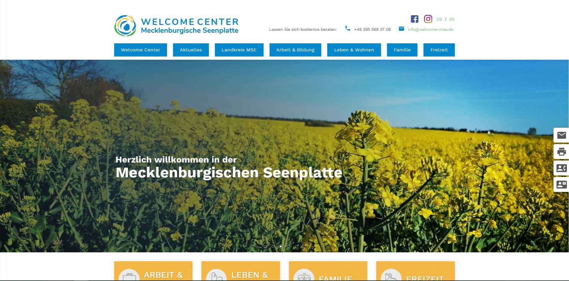 Welcome Center Mecklenburgische Seenplatte