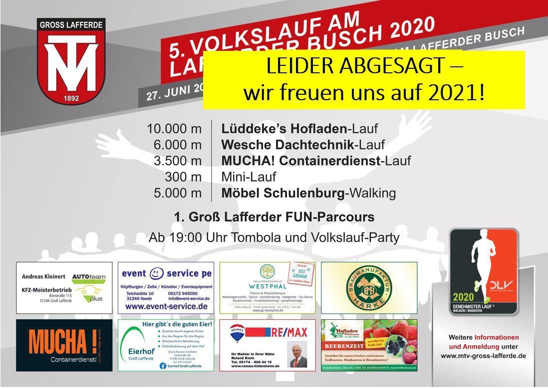 Absage VL 2020