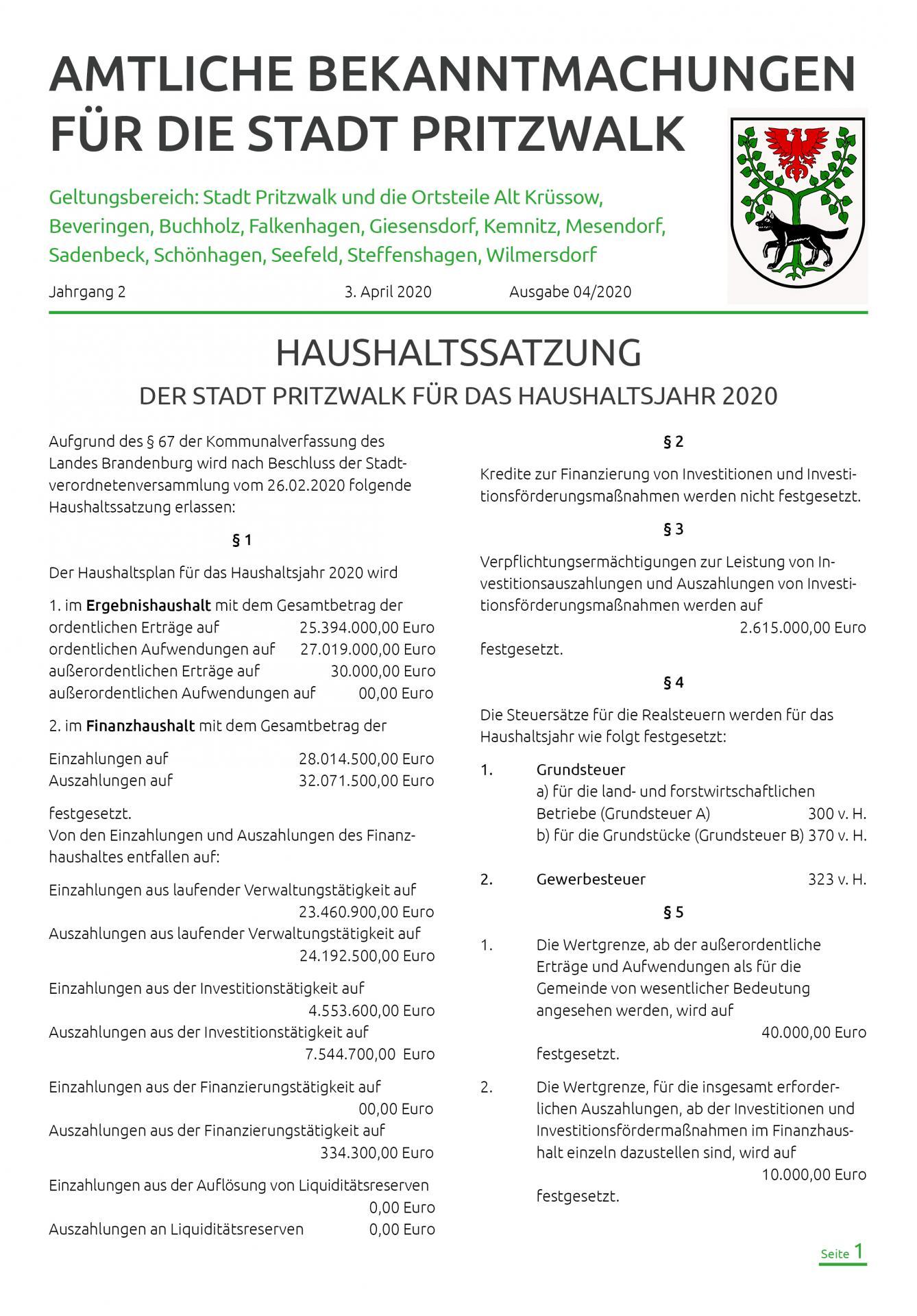 Bekanntmachungen-Heft-4-2020-titel
