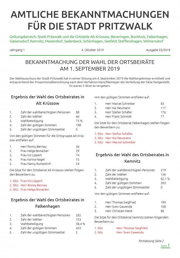 Bekanntmachungen-Oktober-Titel