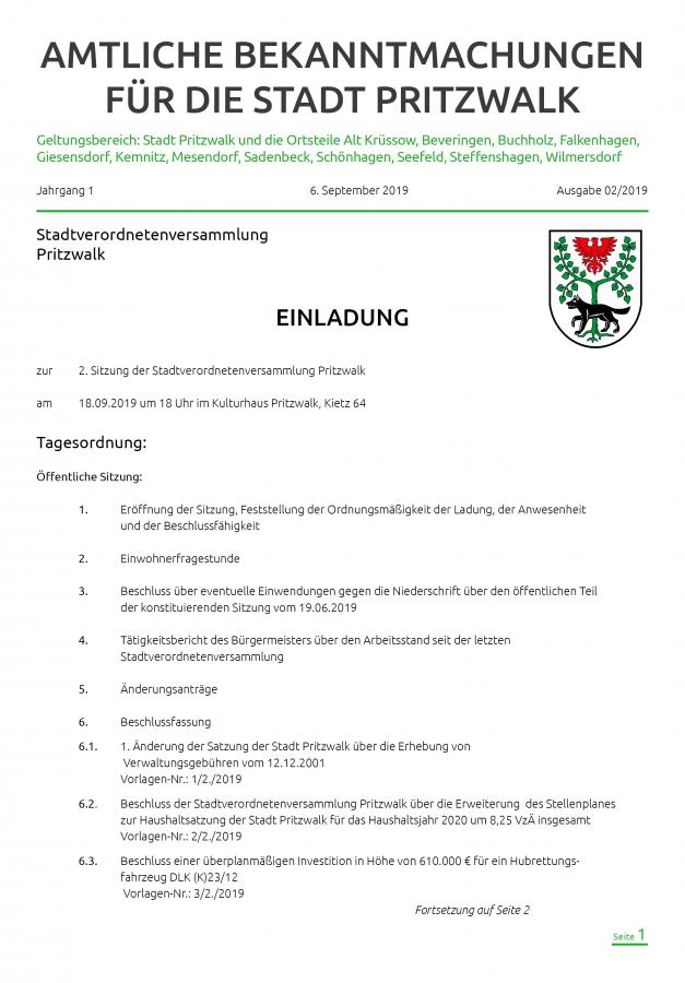 Amtliche Bekanntmachungen-September-Titel-2019