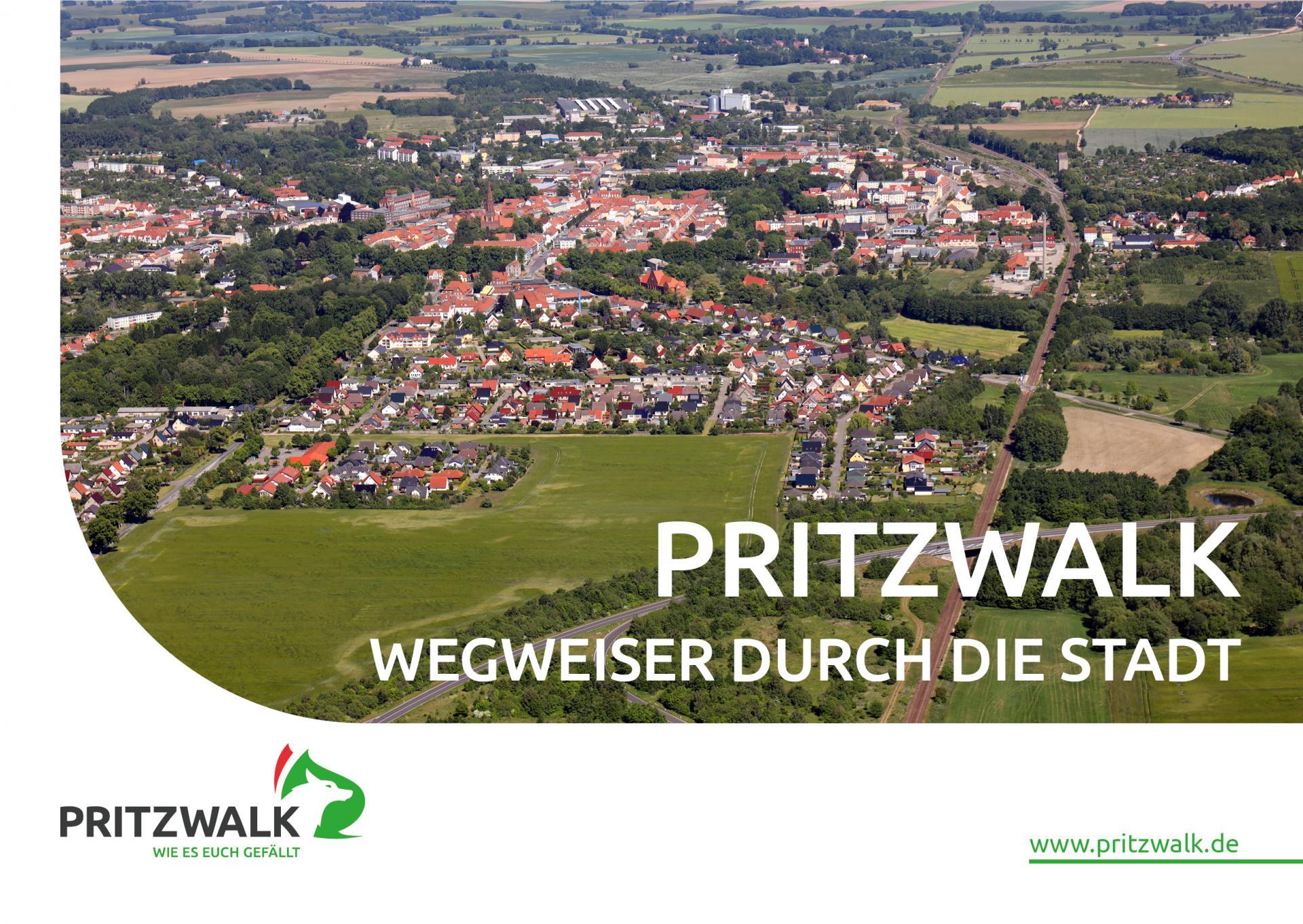 Wegweiser durch die Stadt Pritzwalk