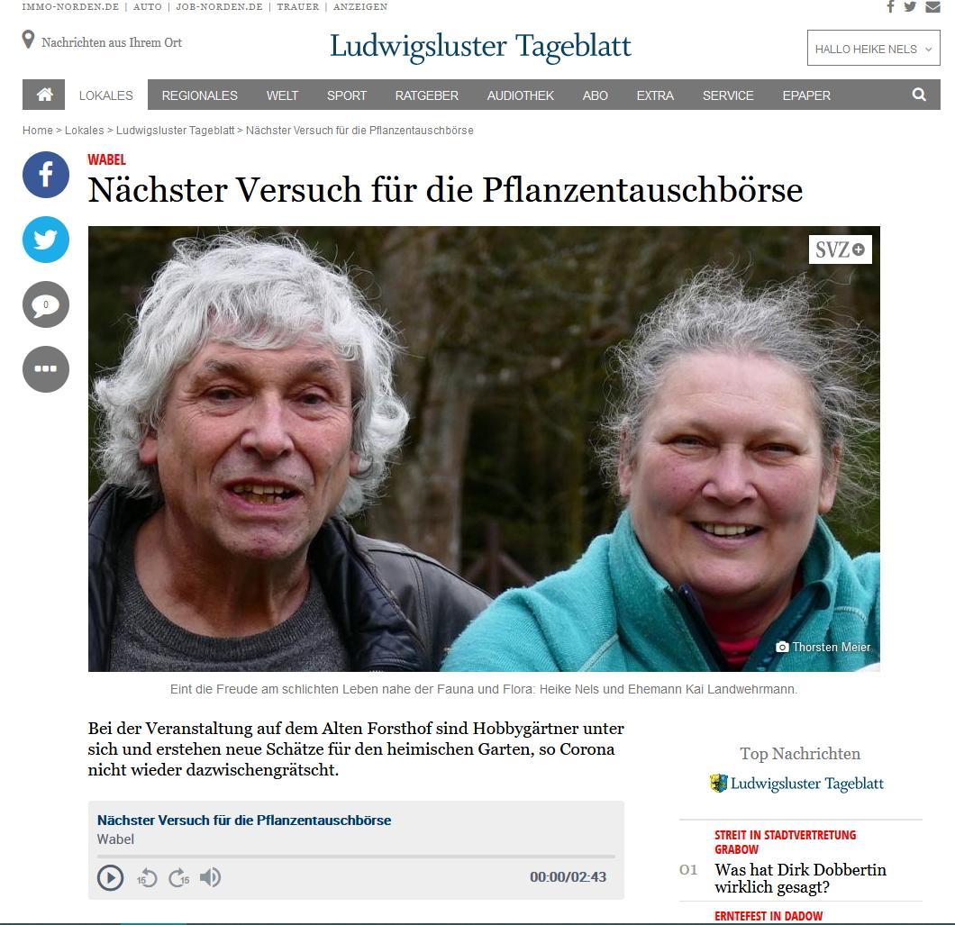SVZ - Thorsten Meier vom 25.08.2021