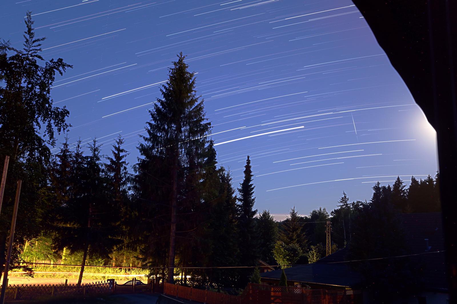 Meteor am 30.07.2020 über der Lausitz