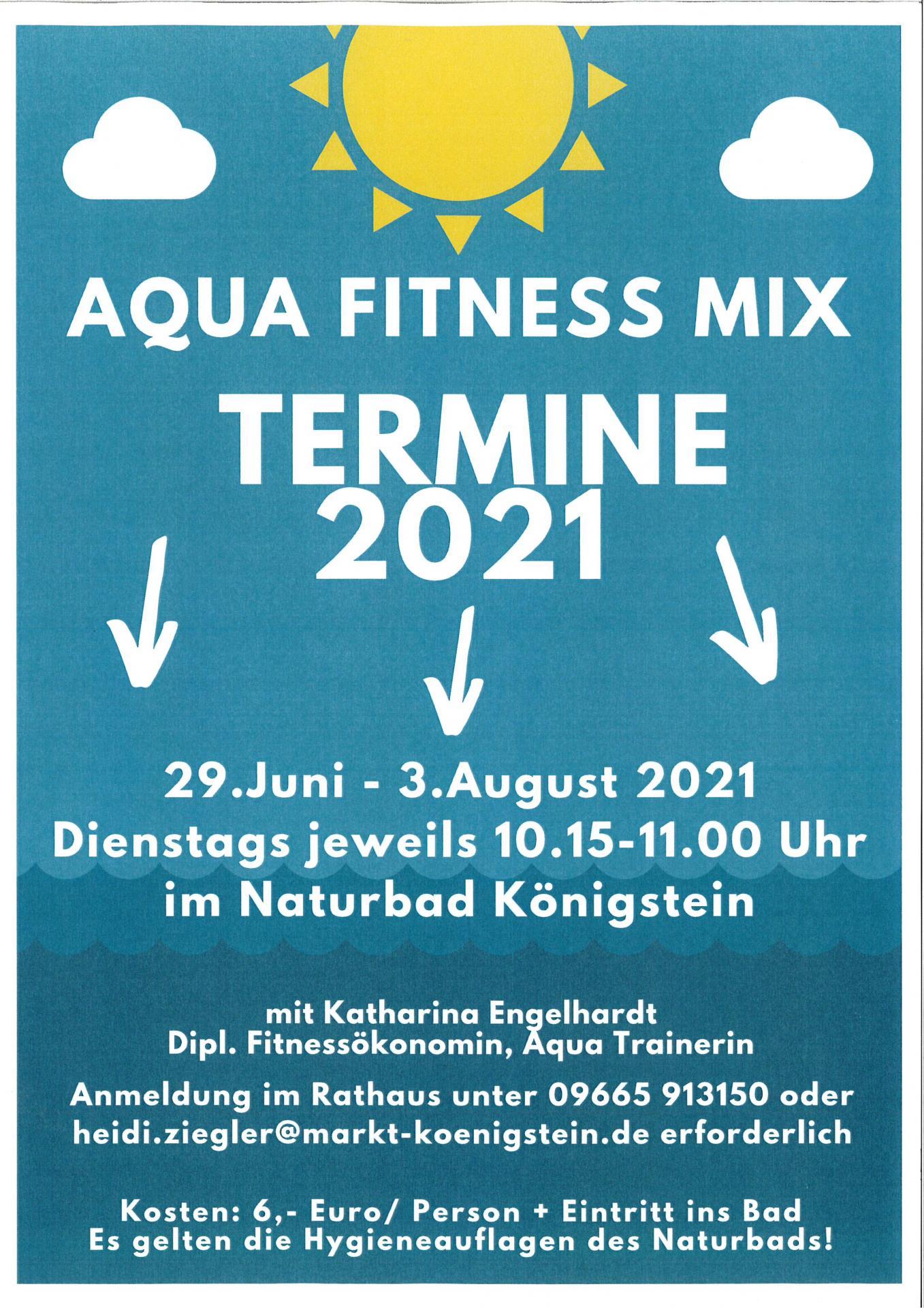 Aqua Fitness Mix