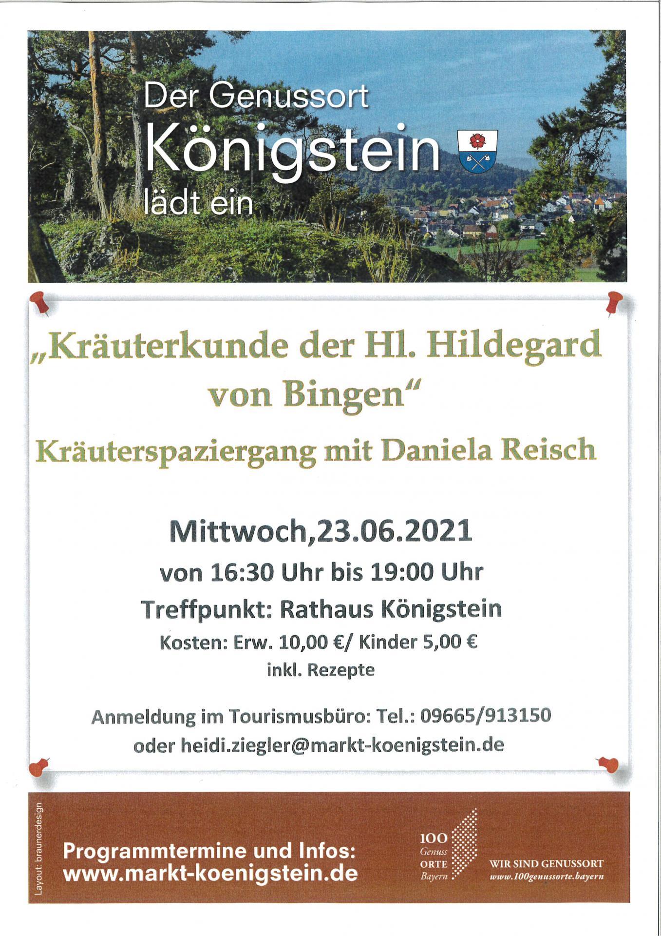 Kräuterkunde Hildegard von Bingen