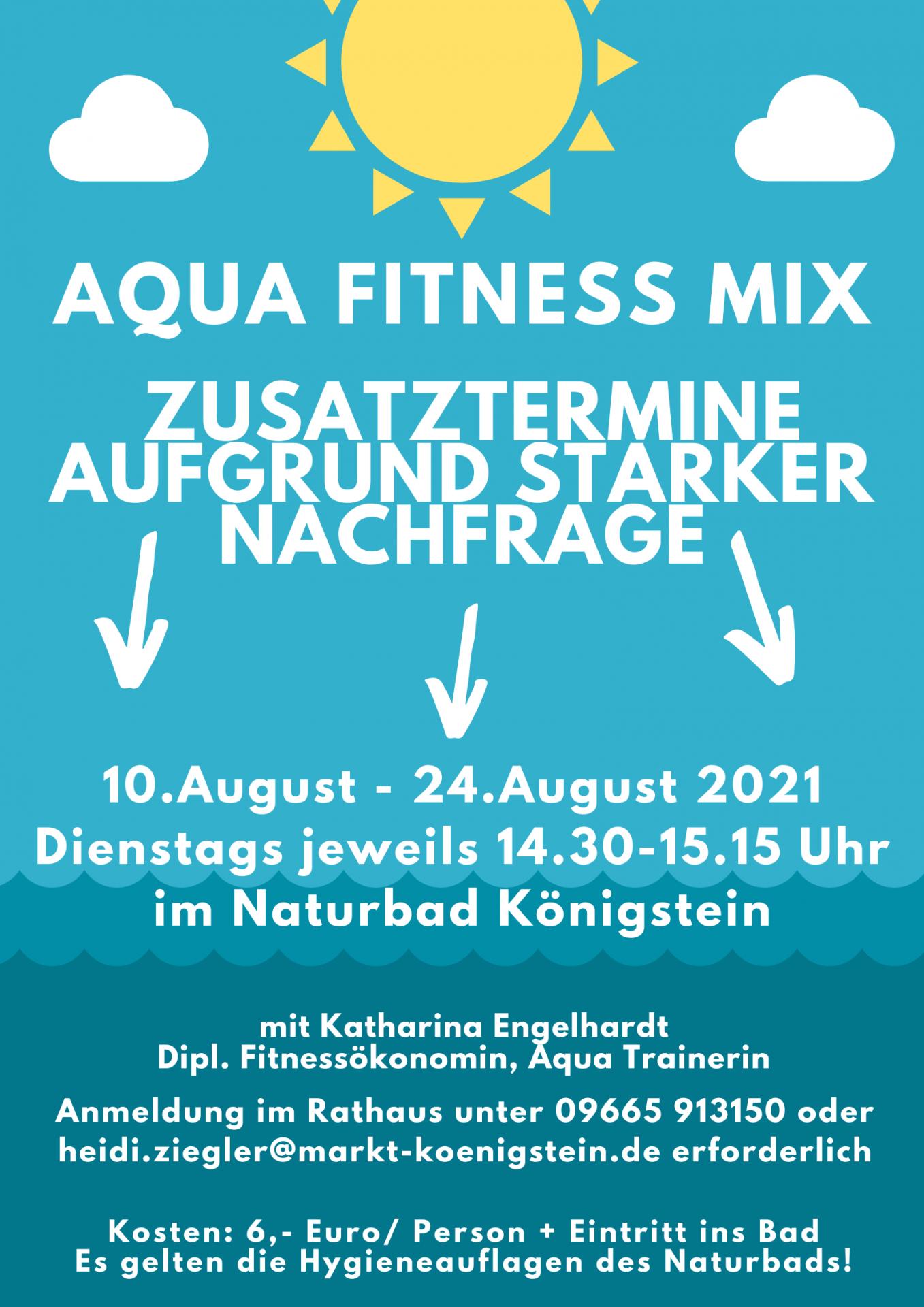 Aqua Fitness Mix August