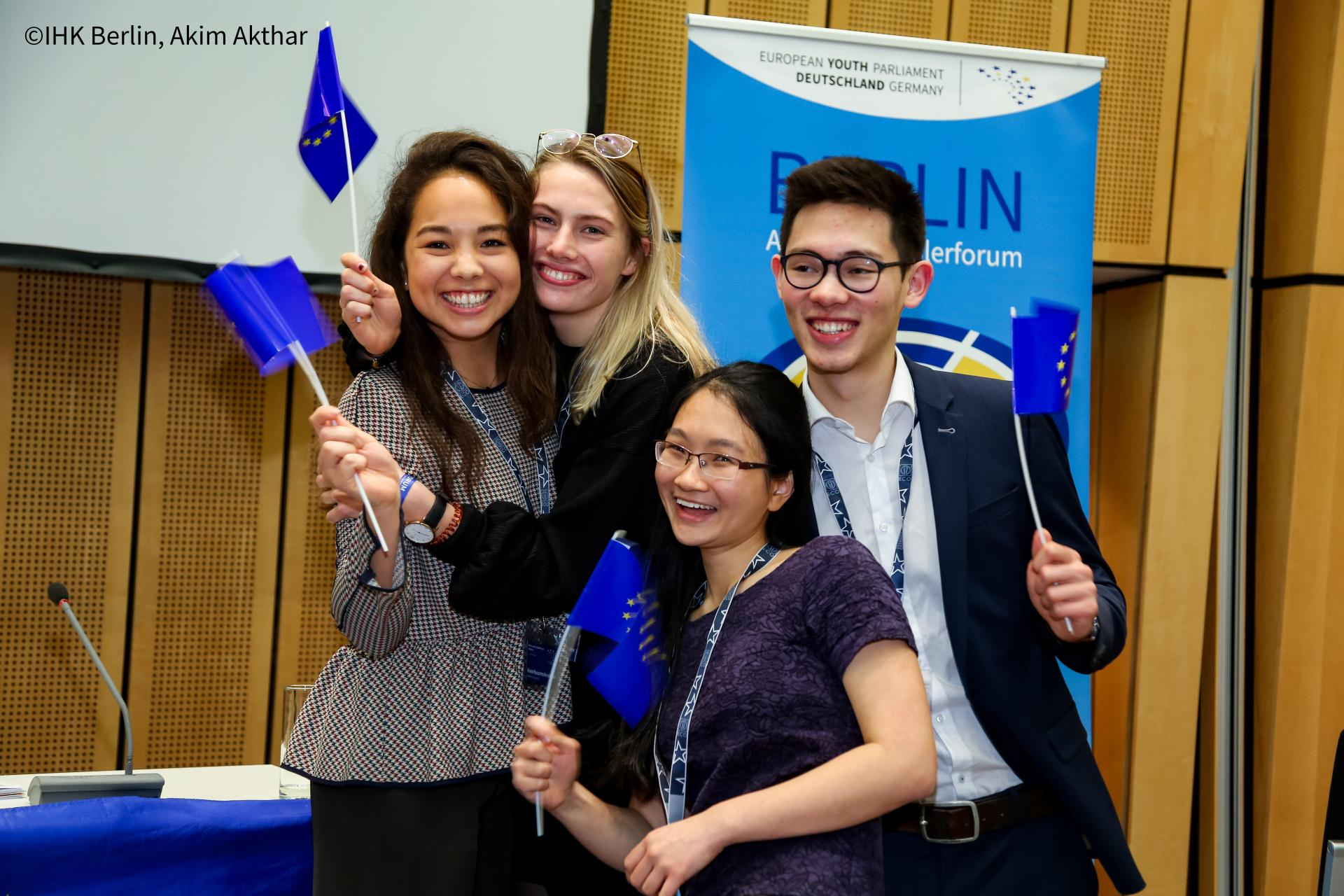 Europäisches Jugendparlament Azubi- und Schülerforum