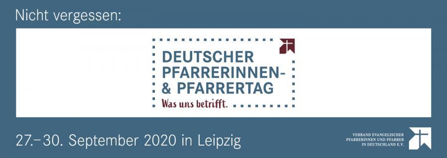 Dt. Pfarrertag Leipzig 2020