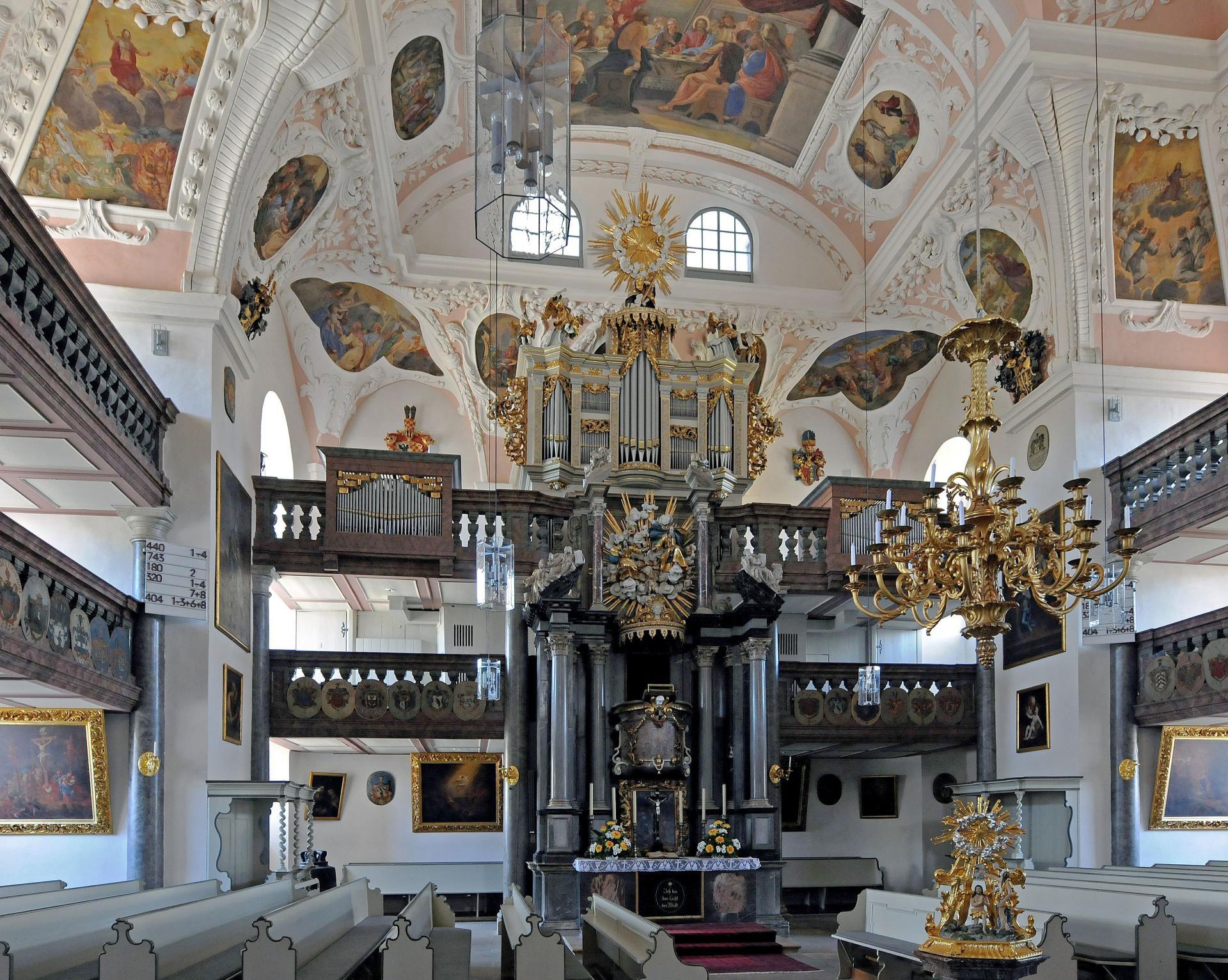 Ordenskirche innen