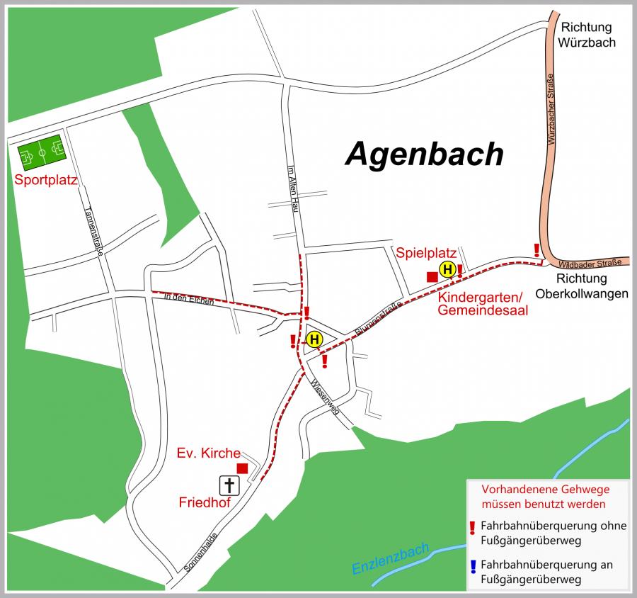 Schulwegeplan Agenbach