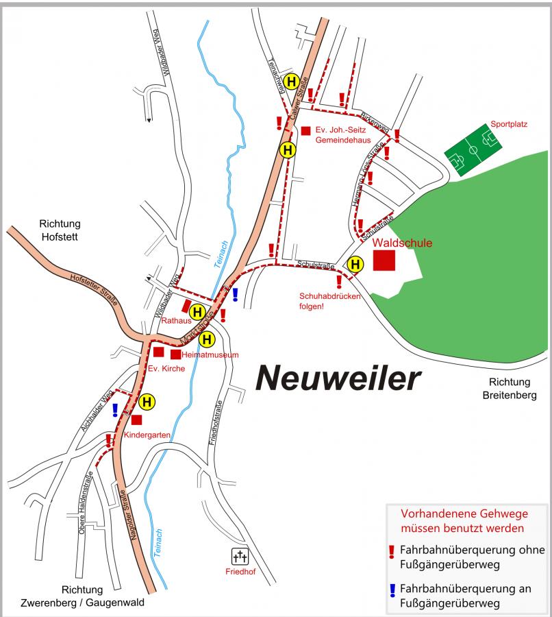 Schulwegeplan Neuweiler