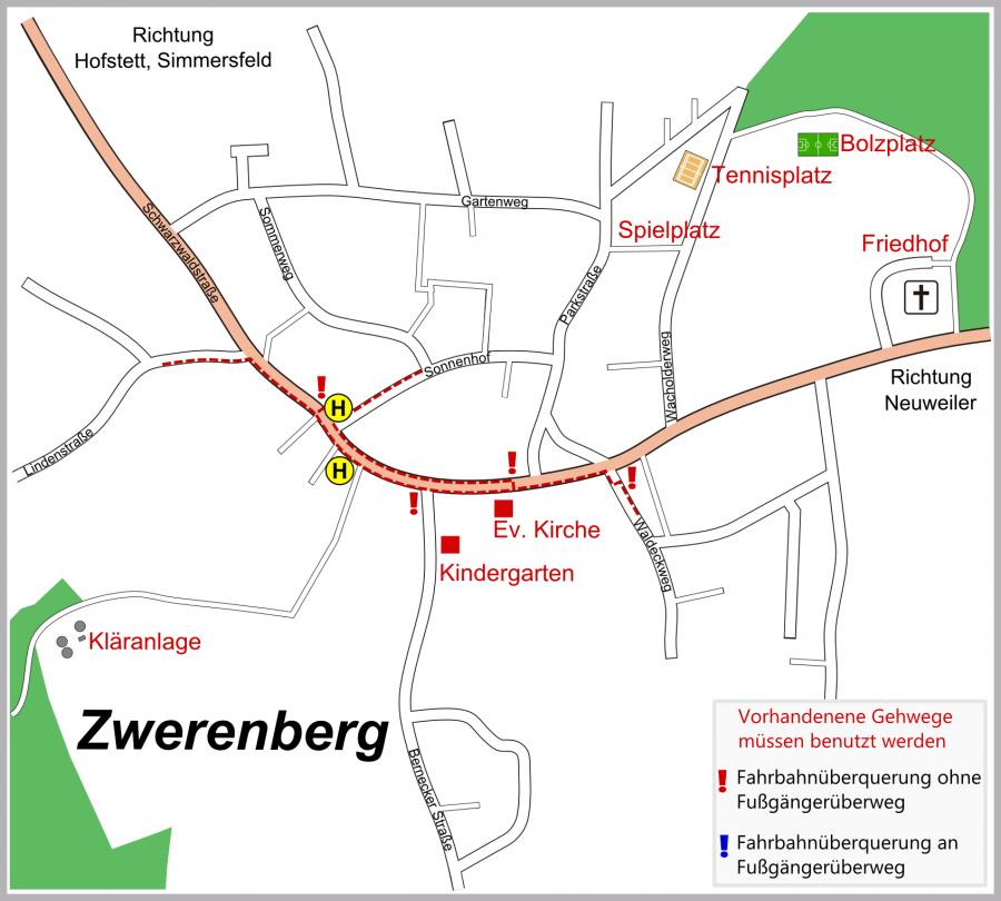 Schulwegeplan Zwerenberg