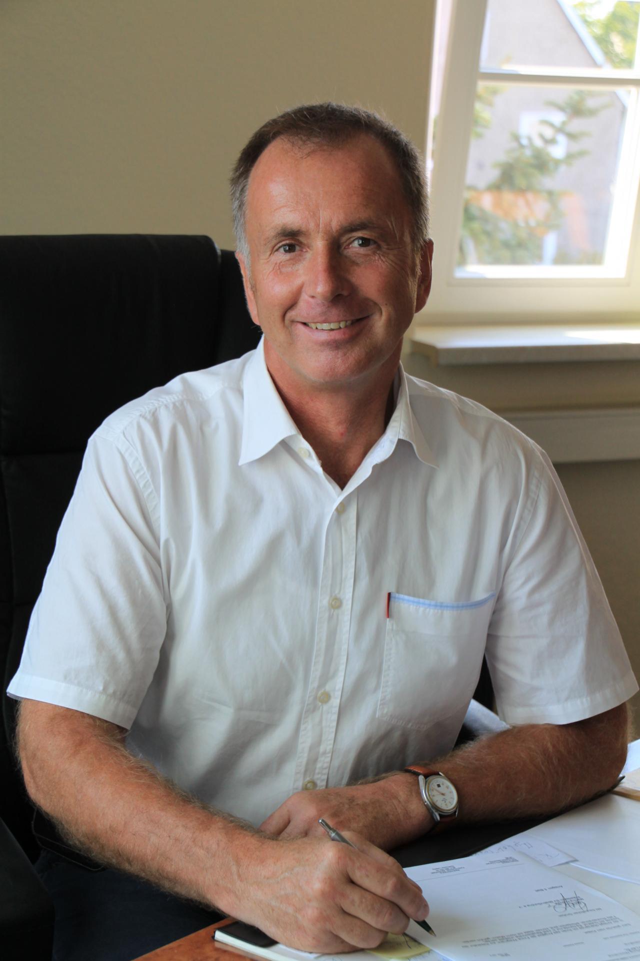 Bürgermeister Peter Klepel
