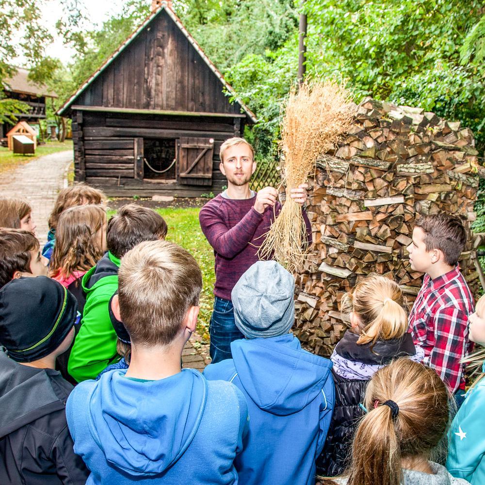 Kinderführung, Freilandmuseum Lehde Fotograf: Peter Becker
