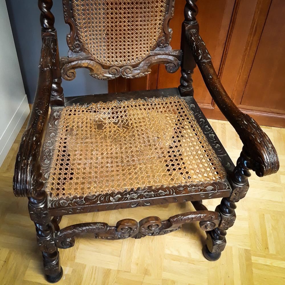 Restaurierung Stühle Foto- Museum OSL
