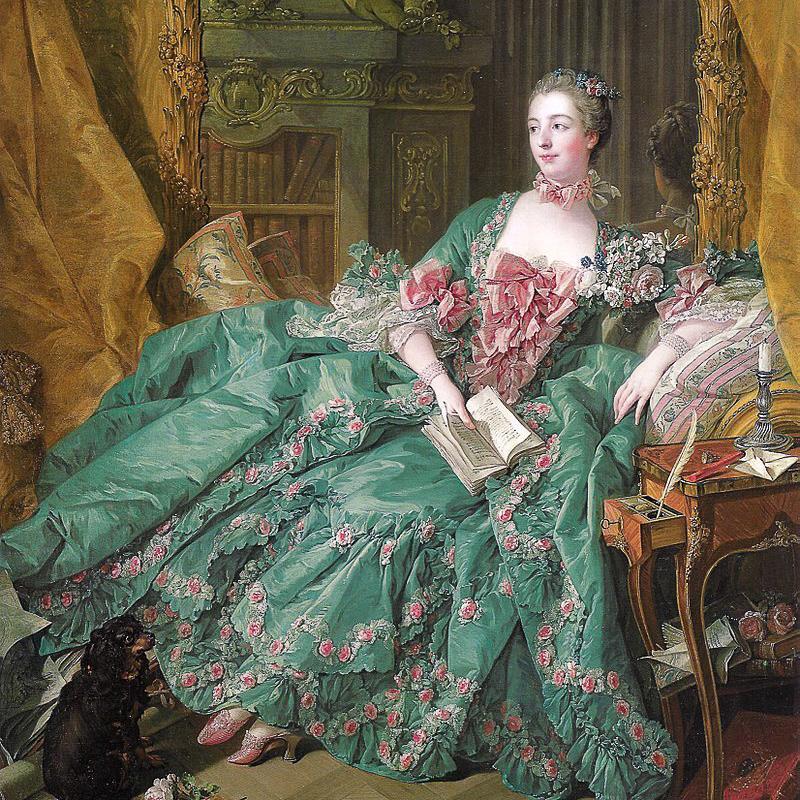 Madame de Pompadour Bild: Gemeinfrei/ wikimedia