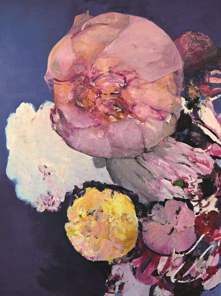 Annedore Dietze_Blossom 200 x 150 cm Öl auf Leinwand 2015_VG Bildkunst_Foto_Künstlerin