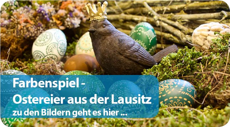 Farbenspiel - Ostereier aus der Lausitz