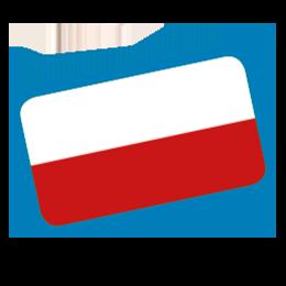 Fahne Polnisch