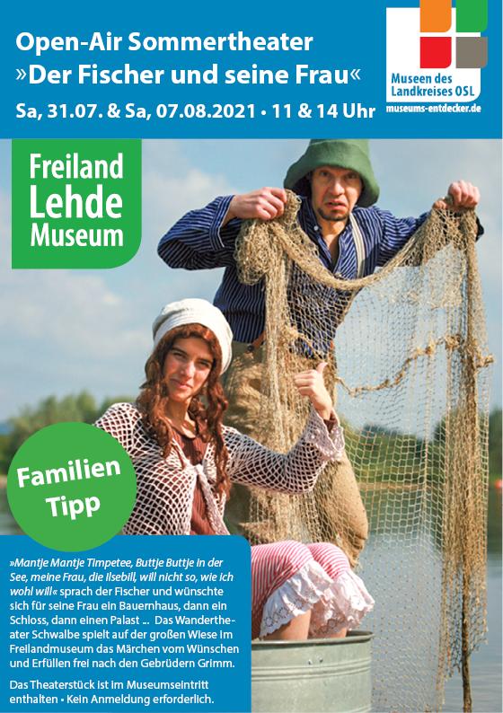 Ferienprogramm Freilandmuseum Lehde_Theater