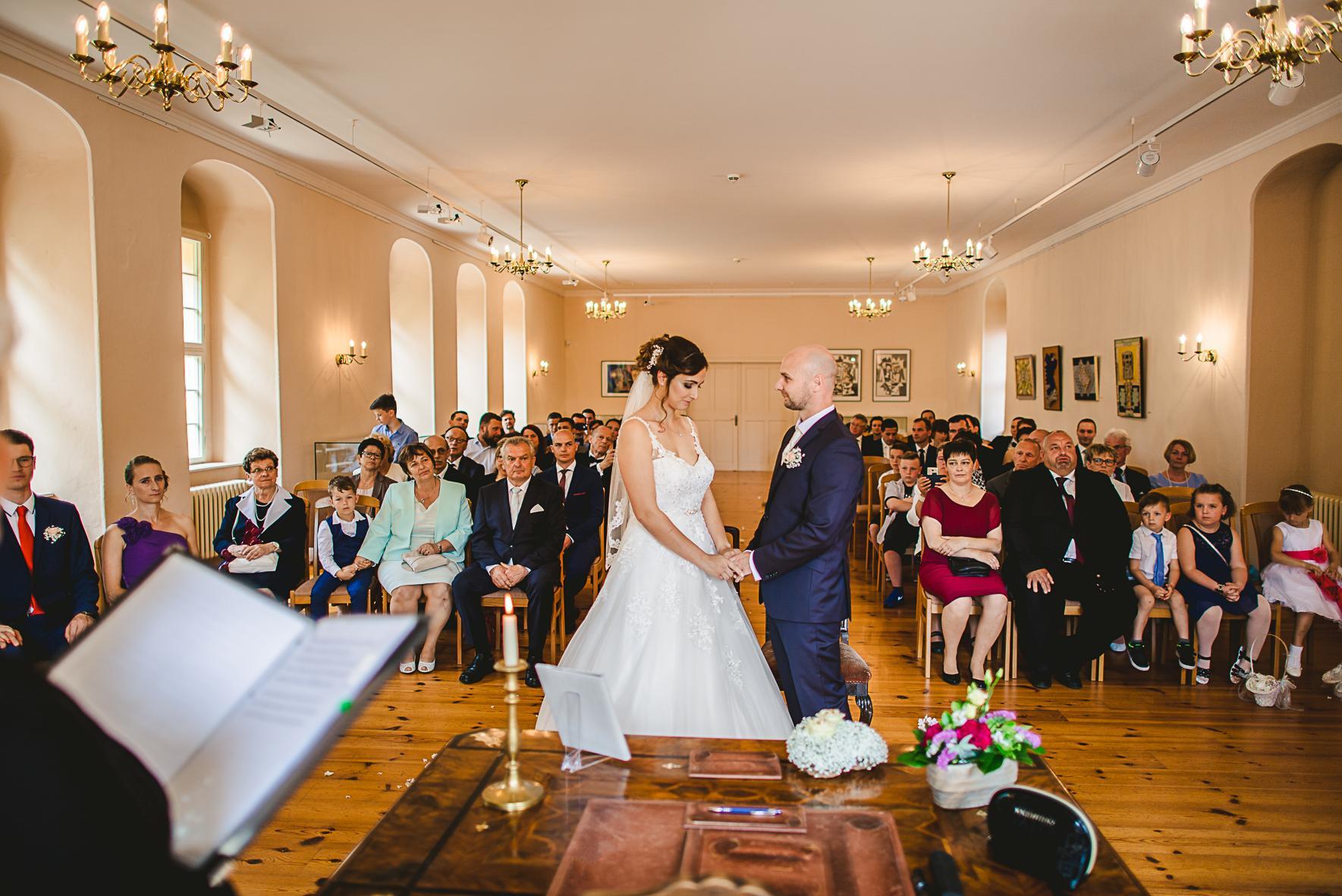 Hochzeit Schloss und Festung Senftenberg Foto- Ron Marzok