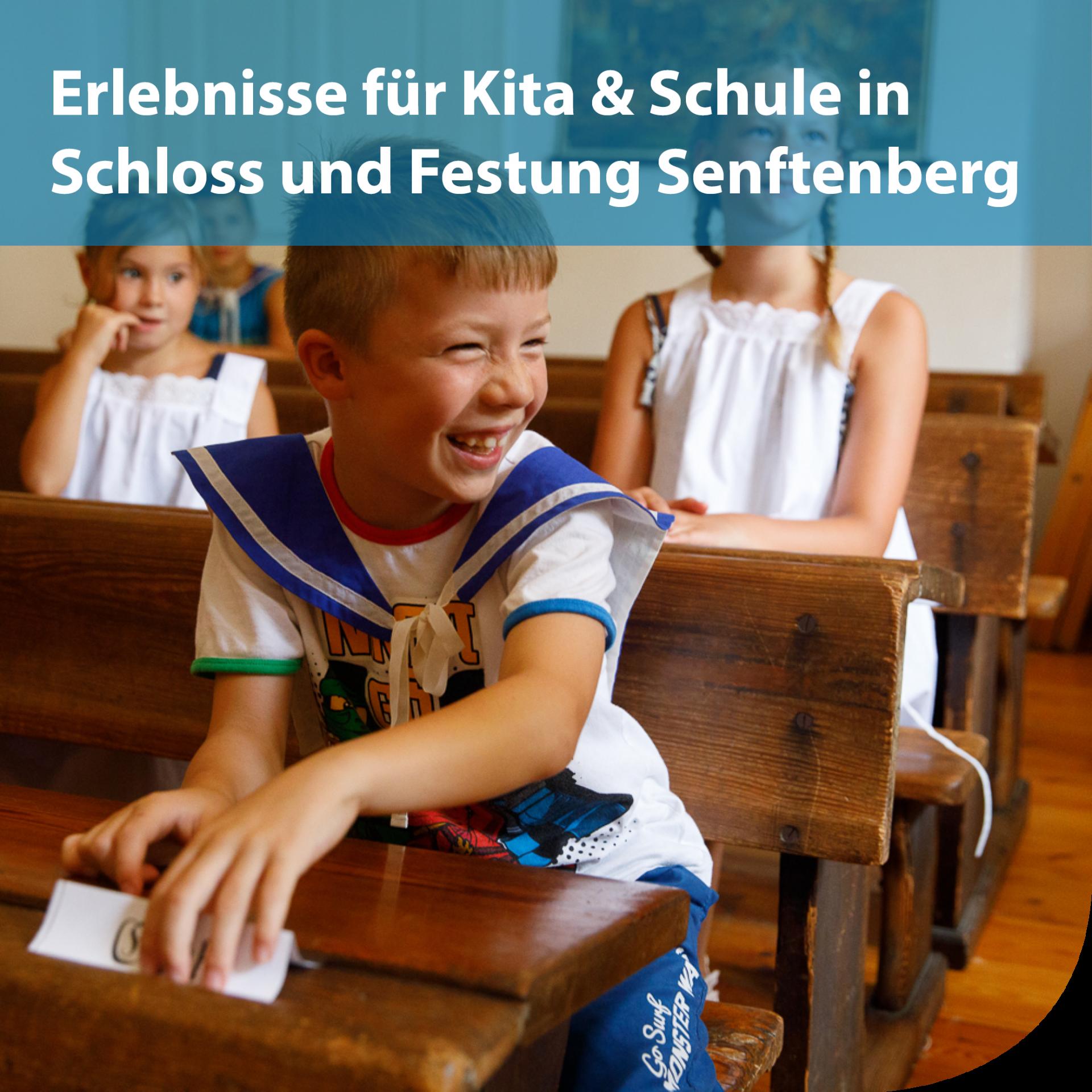Angebote für Kita und Schule Schloss und Festung Senftenberg